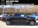 2017 Shadow Black Ford F150 XLT SuperCrew 4x4 #118694674