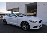 2016 Oxford White Ford Mustang EcoBoost Premium Coupe #118694721