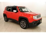 2016 Colorado Red Jeep Renegade Limited 4x4 #118694823