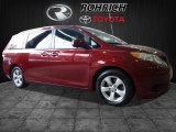2012 Salsa Red Pearl Toyota Sienna LE #118694929