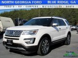 2017 White Platinum Ford Explorer Platinum 4WD #118694544
