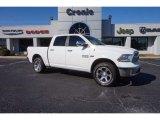 2014 Bright White Ram 1500 Laramie Crew Cab 4x4 #118694758