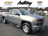 2017 Pepperdust Metallic Chevrolet Silverado 1500 LT Double Cab 4x4 #118694907