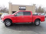 2015 Race Red Ford F150 XLT SuperCrew 4x4 #118694840