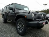 2017 Granite Crystal Metallic Jeep Wrangler Unlimited Rubicon 4x4 #118722341