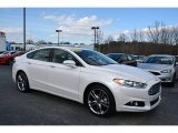 2015 Oxford White Ford Fusion Titanium #118732147