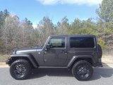 2017 Granite Crystal Metallic Jeep Wrangler Winter Edition 4x4 #118731964