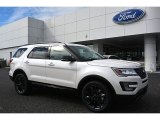 2017 White Platinum Ford Explorer XLT 4WD #118732133
