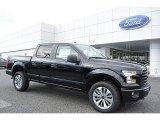 2017 Shadow Black Ford F150 XL SuperCrew 4x4 #118732132