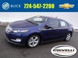 2013 Blue Topaz Metallic Chevrolet Volt  #118732299