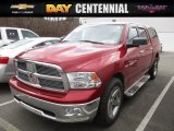 2010 Inferno Red Crystal Pearl Dodge Ram 1500 SLT Crew Cab 4x4 #118732058