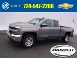 2017 Pepperdust Metallic Chevrolet Silverado 1500 LT Double Cab 4x4 #118732298