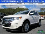 2014 White Platinum Ford Edge Limited AWD #118731943