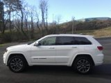 2017 Bright White Jeep Grand Cherokee Overland 4x4 #118762737