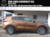 2017 Burnished Copper Kia Sportage EX AWD #118762916