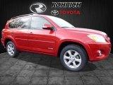2011 Barcelona Red Metallic Toyota RAV4 Limited #118763143
