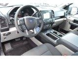 2017 Ford F150 XL SuperCab Black Interior