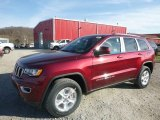 2017 Velvet Red Pearl Jeep Grand Cherokee Laredo 4x4 #118763001