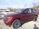 2017 Velvet Red Pearl Jeep Grand Cherokee Laredo 4x4 #118763000