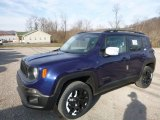 2017 Jetset Blue Jeep Renegade Latitude 4x4 #118762997
