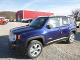 2017 Jetset Blue Jeep Renegade Limited 4x4 #118762996