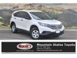 2013 White Diamond Pearl Honda CR-V LX AWD #118762827