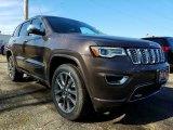 2017 Walnut Brown Metallic Jeep Grand Cherokee Overland 4x4 #118793117