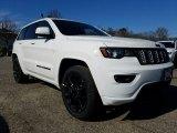2017 Bright White Jeep Grand Cherokee Laredo 4x4 #118793115