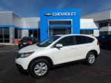 2014 White Diamond Pearl Honda CR-V EX AWD #118808016