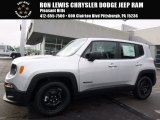 2017 Glacier Metallic Jeep Renegade Sport #118808047