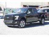 2017 Shadow Black Ford F150 XL SuperCab 4x4 #118808003