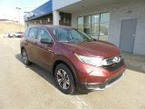 2017 Basque Red Pearl II Honda CR-V LX AWD #118826466