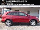 2014 Remington Red Kia Sorento LX #118826461