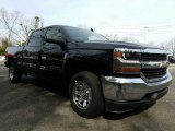 Black Chevrolet Silverado 1500 in 2017