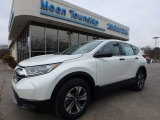 2017 White Diamond Pearl Honda CR-V LX AWD #118826514
