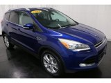 2014 Deep Impact Blue Ford Escape Titanium 1.6L EcoBoost 4WD #118826333