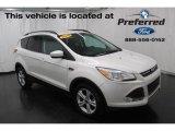 2015 White Platinum Metallic Tri-Coat Ford Escape SE #118826325