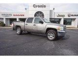 2013 Graystone Metallic Chevrolet Silverado 1500 LT Crew Cab #118826559