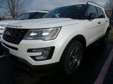 2017 White Platinum Ford Explorer Sport 4WD #118851465