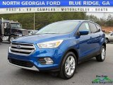 2017 Lightning Blue Ford Escape SE #118851187
