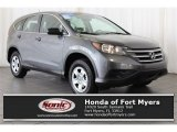 2014 Polished Metal Metallic Honda CR-V LX AWD #118851241