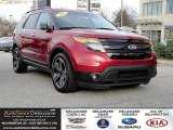 2013 Ruby Red Metallic Ford Explorer Sport 4WD #118851229