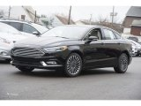 2017 Shadow Black Ford Fusion SE AWD #118872469