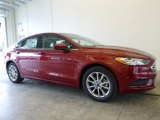 2017 Ruby Red Ford Fusion SE #118872412
