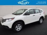 2014 White Diamond Pearl Honda CR-V LX AWD #118872291