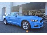 2017 Grabber Blue Ford Mustang V6 Coupe #118872458
