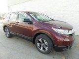 2017 Basque Red Pearl II Honda CR-V LX AWD #118872403