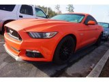 2016 Competition Orange Ford Mustang GT Coupe #118872448