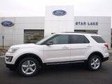 2017 White Platinum Ford Explorer XLT 4WD #118872685