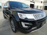 2017 Ford Explorer Platinum 4WD Front 3/4 View